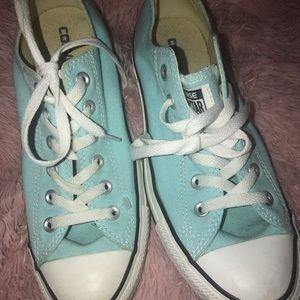 Pastel Blue converse